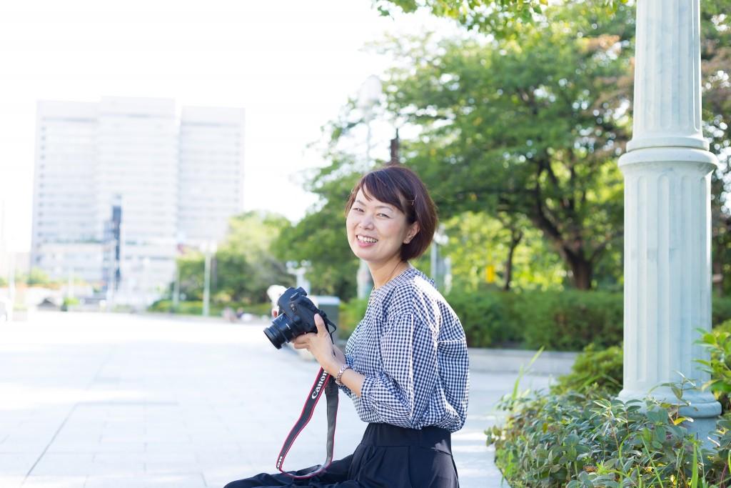 女性起業家プロフィール写真